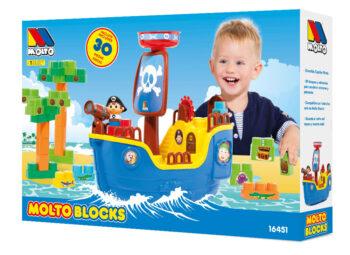 Packaging envase barco pirata