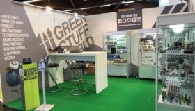 Diseño del estand de Green Stuff World